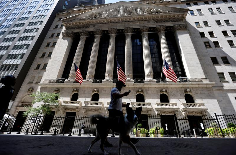Wall Street up on hopes of Fed backing; FedEx jumps