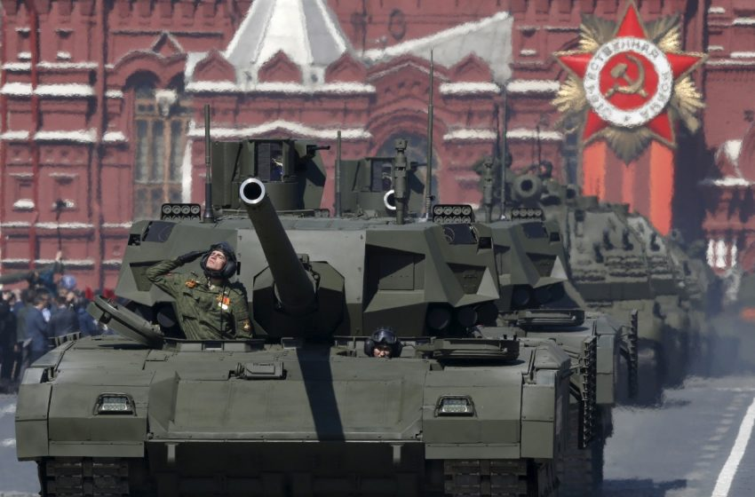 Could Russia's New Tank Fire Hypersonic Missiles?