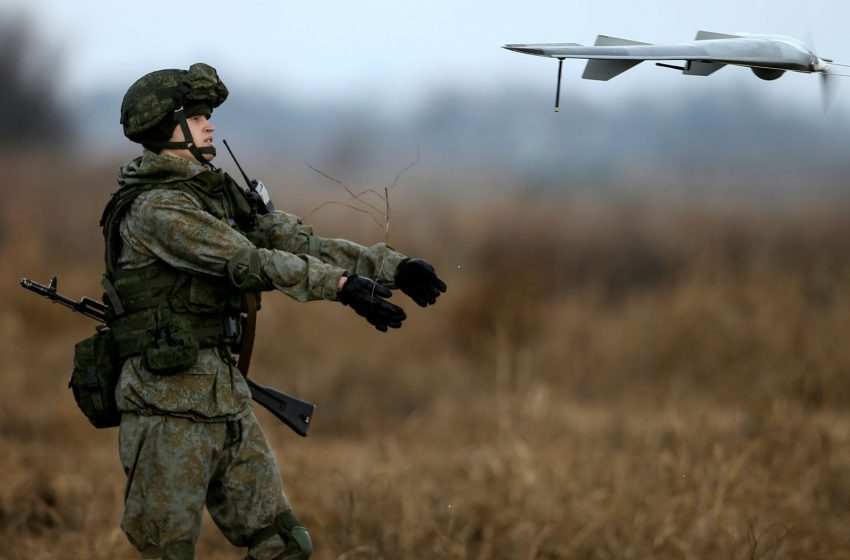 Russia Hopes to Build a Deadly Drone Swarm Weapon