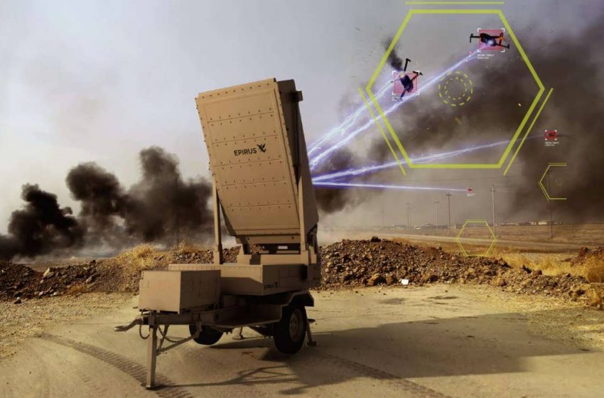 Drone-killing microwave weapon can disable swarms of aerial attackers