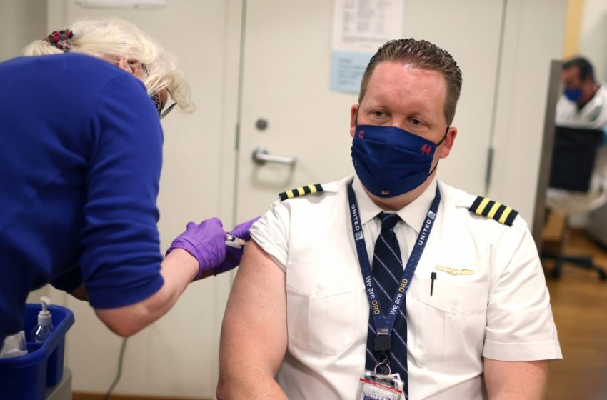 Nearly 600 United Airlines employees face termination for defying vaccine mandate